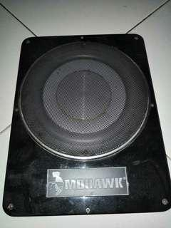 mohawk underseat active subwofer 8""