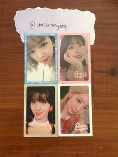 Twice Summer Nights Official Photocards