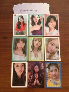 Official Album Photocards