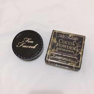 🚚 too faced cocoa powder foundation 粉餅