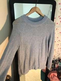 CNY sale- H&M baby blue sweater #cny50