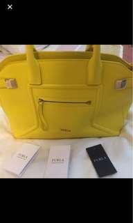 Furla Yellow Bag
