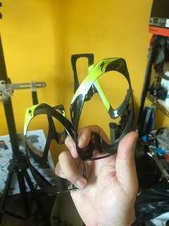 2x Specialized carbon bottle cages