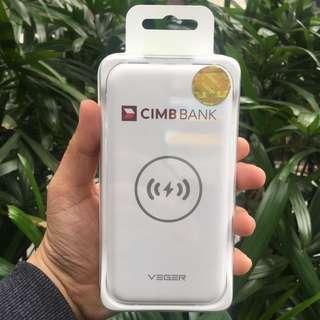Veger VP-1010TW Wireless Power Bank 8000mAh