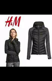 H&M Padded outdoor jacket (black)