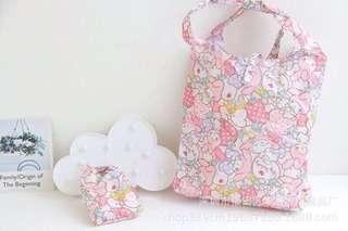 🚚 美樂蒂環保購物袋(可摺疊)