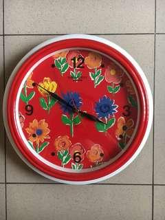 Wall Clock Quartz 30x30cm