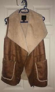 Forever 21 Furry Vest
