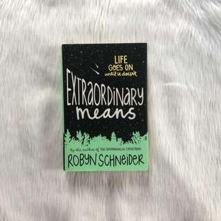 Extraordinary Means (hardbound)