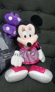 Big minnie mouse stuffed toy