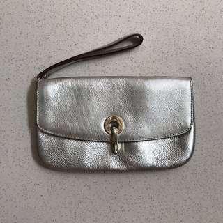 original Kate Spade silver wristlet