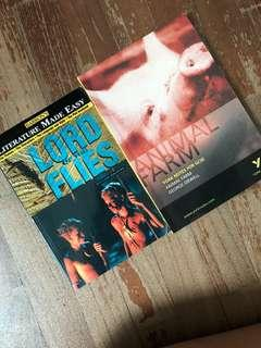 Lord of The Flies and Animal Farm guide books