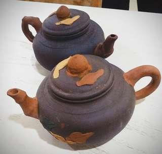 Grangpa teapots vintage