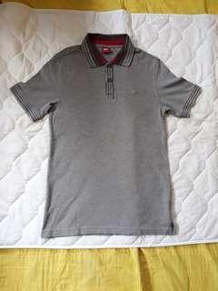 Polo T-shirt Country Fiesta Abu-Abu