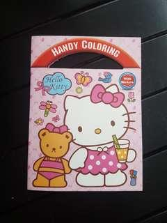 🚚 Hello Kitty Car Coloring Book