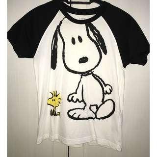 BOYS Peanuts Short Sleeve Graphic T Shirt