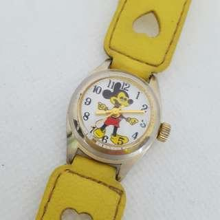 Mickey Mouse Hand-Winding Watch