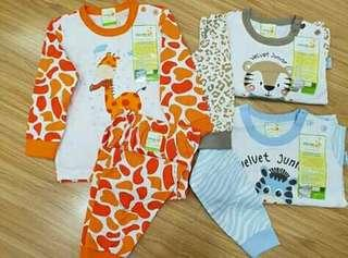 Velveg junior playfull motif animal terbaru motif januari
