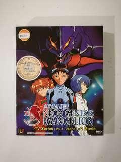 Neon Genesis Evangelion DVD Set