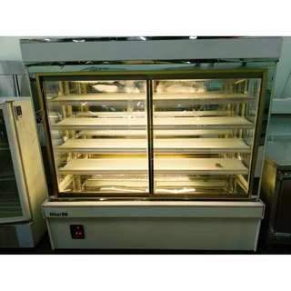 CAKE DISPLAY CHILLER 5.11 FEET WITH HUMIDITY NEW COMPRESSOR