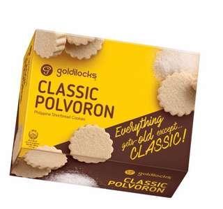 Goldilocks Polvoron ( Original and Assorted )