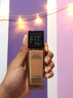 Foundation Maybelline Fit Me Matte+Poreless (Normal to oily)