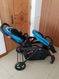 Twin Stroller - Contours Option Elite