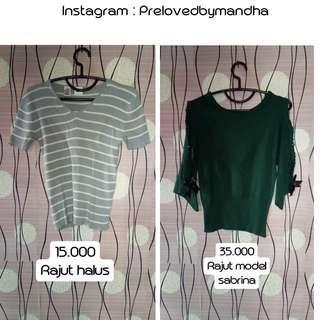 Turun harga preloved blouse