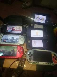 Psp and 3ds