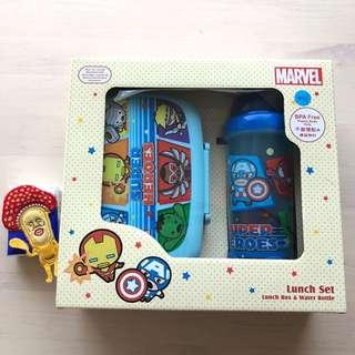 Kids lunch box & bottle