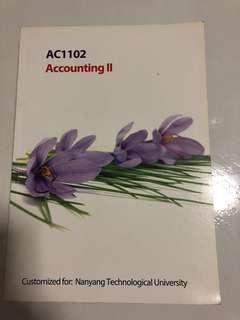 AC1102 Accounting II Nbs