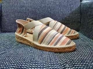 🚚 西班牙手工麻編織/天然材質 夏日便鞋