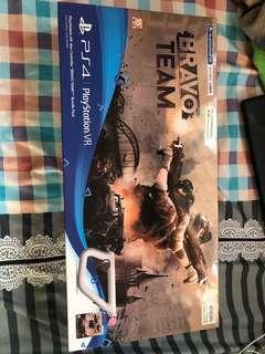 Ps4  VR aim controller come with game