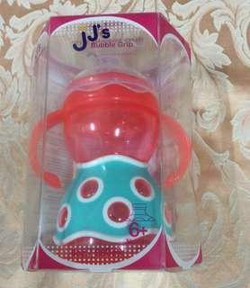 JJ's Bubble Grip 嬰兒學習杯  適合年齡:六個月大