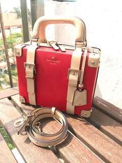 Kate Spade handbag limited 行李 vanity case miu miu chanel
