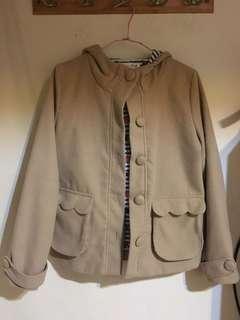 Dailo棕色大衣外套