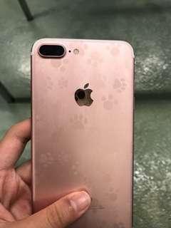 🚚 iphone7plus 128g 玫瑰金