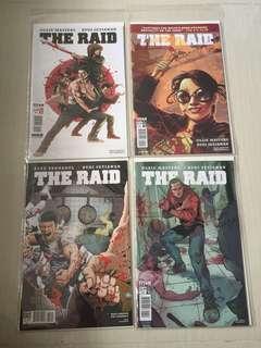 Titan Comics The Raid (#1-#4) Complete Run Set