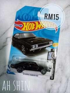 Hotwheels-Dodge Charger 500