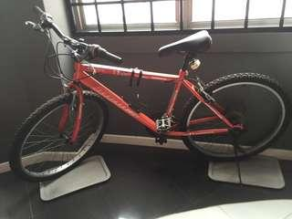 Bicycle with free lock!