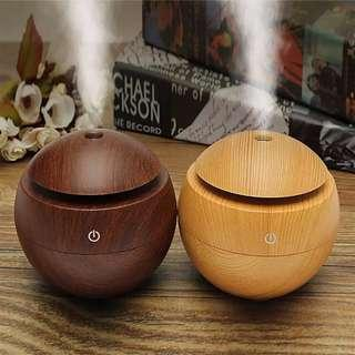 Free Delivery. USB Essential Oil Diffuser. Aroma With LED Lights. For Home & Office Use