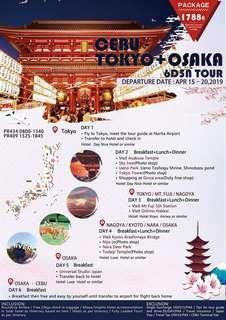 6D5N JAPAN ALL-IN TOUR PACKAGE (VIA CEBU)