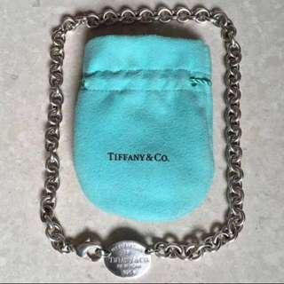 Authentic RETURN TO TIFFANY® Oval Tag Necklace