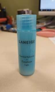 💧Laneige 輕盈清爽補濕液 Essential balancing emulsion_light 25ml