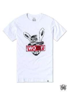 Jay Chou Woof Mystery Rabbit T-shirt in White