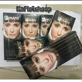 Feves Color Cream Hair All Variant 60ml