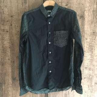 黑配灰豹紋恤衫 black + grey leopard shirt