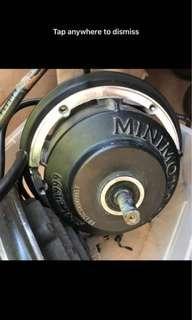 Dualtron 2 limted motors front n back 800w