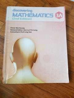 (Used) Sec 3 Mathematics Textbook 3A