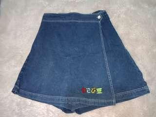 Skirt jeans korean